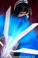 Kitana blinks by ThelemaTherion