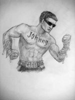 Johnny Cage MK(2011) MK3 Versus position by Arch2626