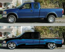 low down truck by fastworks
