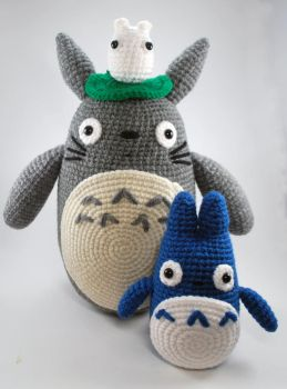 Totoro set by craftyhanako