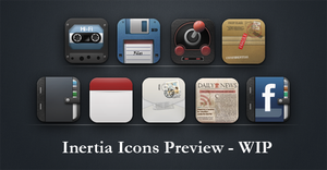 Inertia icons preview - WIP by Taine0