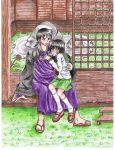 Miroku and Kagome by Fred-Weasley