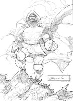 Dr Doom by johnnymorbius