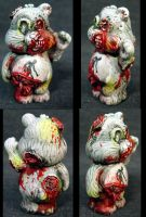 "Killer Care Bear ""Zombie Bear"" by Undead-Art"