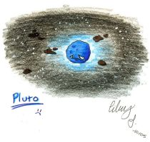 Pluto by IndagoFeather