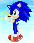 Sonic and his Ring by SonicsChilidog