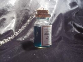 Elixir of Life potion charm necklace by steveabbo