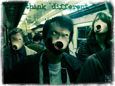 think different by bleuz