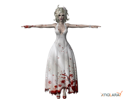 Psycho Bride for XNALara by deexie