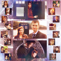 DW: Doctor and Donna by closeyoureyes0329