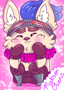 Adorable teemo by toby123zombie