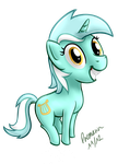 Bouncing Lyra :3 by Premann
