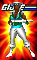 Gi joe Iceberg Superbuff female version by RWhitney75