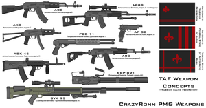 TAF Weapon Concepts -03-12-16- by CrazyRonn