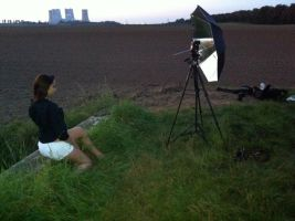 Making of - Noemi Sunset by ChrisK-photo