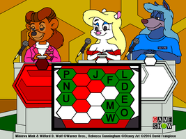 Minerva and Wilford on Blockbusters by tpirman1982