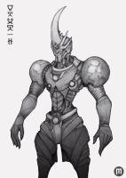 Fan Art - Guyver by MangoKingoroo