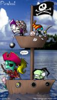 Invader Zim- Pirates by yang