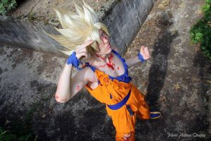 Goku cosplay .:Teleport:. by Alexcloudsquall