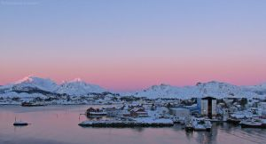 Winter Afternoon in Ballstad 2 by netrex