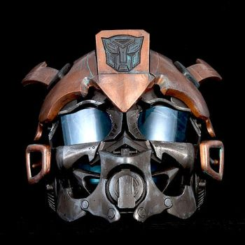 Steampunk Copper Bumble Bee Transformer by artfordable