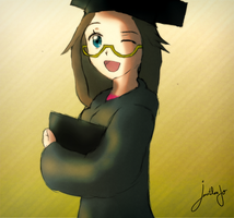 Graduation ceremony  tan by Jonathanjo