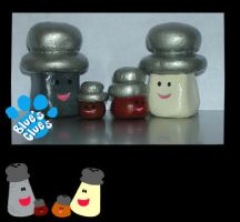 Salt and Pepper Family by MuEnLi