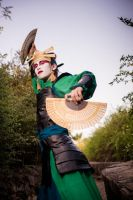 Princes Azula fake Kyoshi by Origami-no-Hime