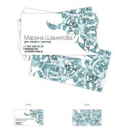 JC+P visit card by dioxyde