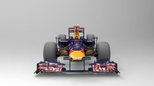 RedBull Racing F1 Front by Binary-Map