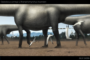 Diplodocus Parade (Version 2.0) by Julio-Lacerda