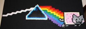 Dark Side of the Nyan Perler by Neo-Shadow-Bat
