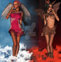 Hell or Heaven by hleon