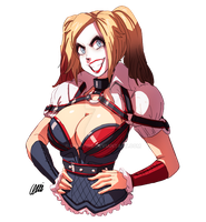 Harley Quinn AK - Sketchy Commission by oNichaN-xD