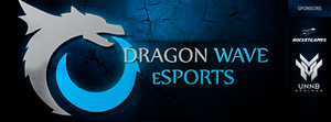 Banner Dragon Wave eSports by uNNB
