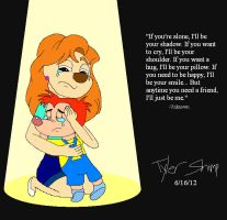 Roxanne and Junior - Comfort in the Spotlight by JackassRulez95