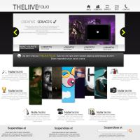 Layout The Liive Folio. by Theliive
