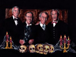 Masters of Macabre by smjblessing