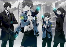 psycho-pass DOTS AND LINES by obaka3