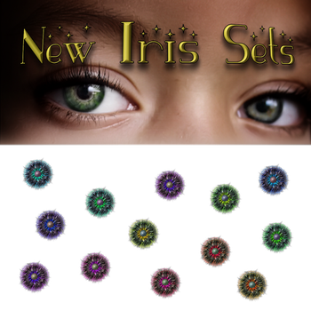 New Iris Sets 1 by VelmaGiggleWink
