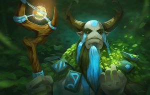 dota 2 Nature's Prophet by biggreenpepper