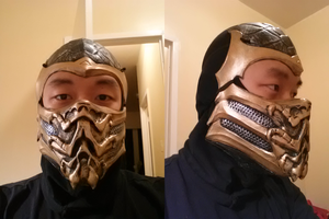 Scorpion Mask Mark IV WIP by StealthNinja5