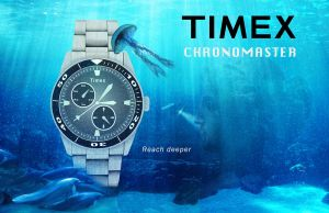 Timex Chronomaster Poster by wickedjelly