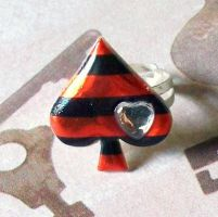 Pirate Spade Ring by prheat