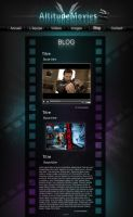 WebDesign altitudeMovies by LiuWelli