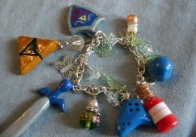 New Legend of Zelda Bracelet 2 by tiffanybell