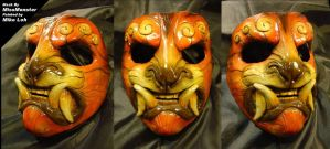 Me Painted MissMonster's Mask by Uratz-Studios