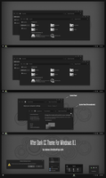After Dark CC Theme For Windows 8.1 by Cleodesktop