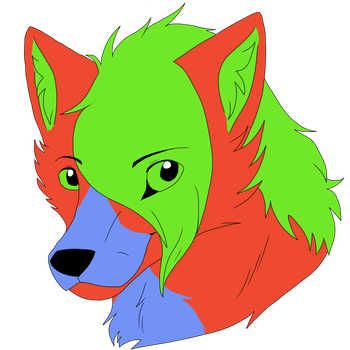 Thorn Headshot Commission by fluffylovey