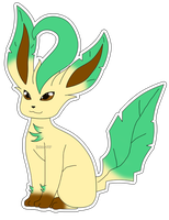 Eeveelution: Leafeon by izka-197